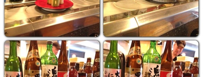 Daichan Kaiten Sushi is one of Sujei's tips.