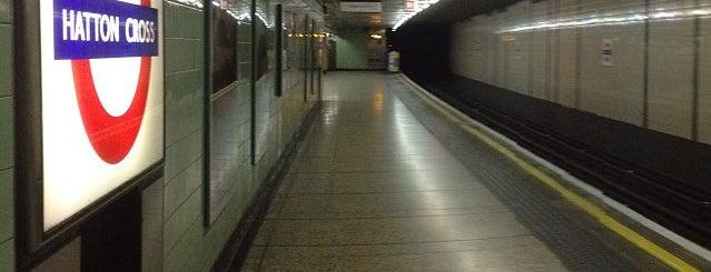 Hatton Cross London Underground Station is one of Tube Challenge.