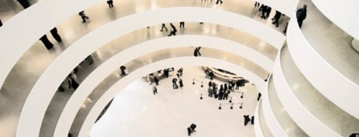 Solomon R. Guggenheim Museum is one of Diana.