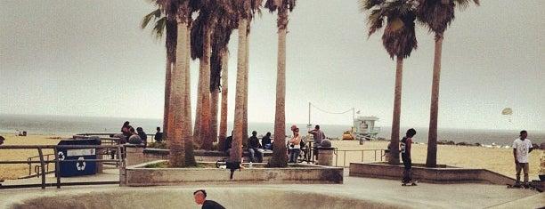 Venice Beach Skate Park is one of World Sites.