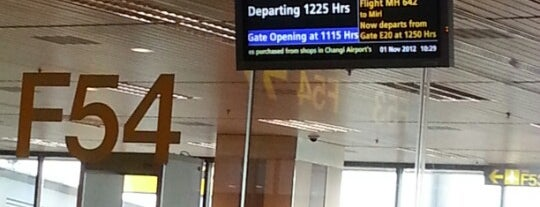 Gate F54 is one of SIN Airport Gates.
