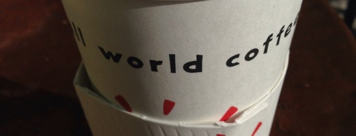 Small World Coffee is one of Ajay's Tips.