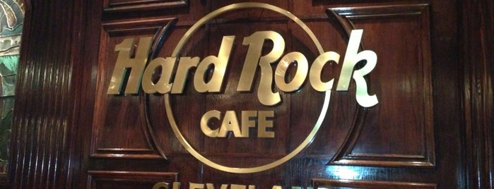 Hard Rock Cafe Cleveland is one of HARD ROCK CAFE'S.