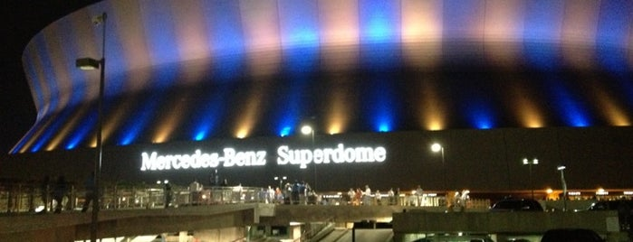 Mercedes-Benz Superdome is one of U2 North America.