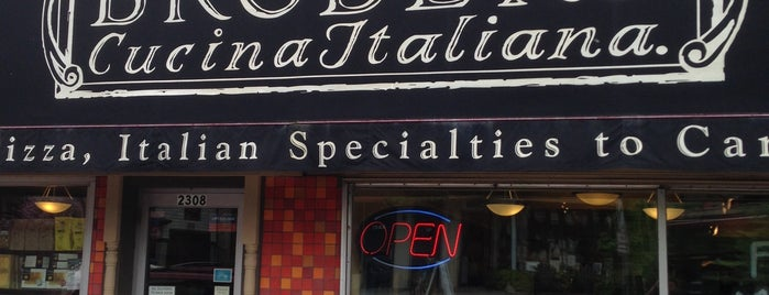 Broders' Cucina Italiana is one of Diners, Drive-Ins & Dives.