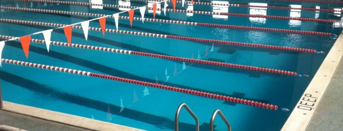 UREC Aquatic Center is one of Hitting For The Cycle!.