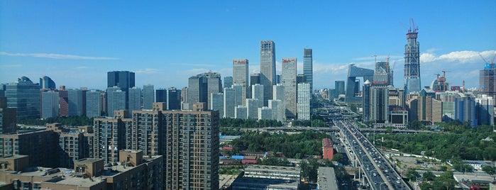 北京富力万丽酒店 Renaissance Beijing Capital Hotel is one of Ren.