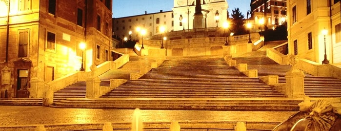 Piazza di Spagna is one of Free WiFi - Italy.