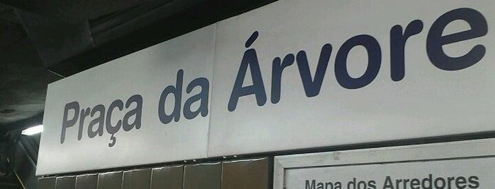 Estação Praça da Árvore (Metrô) is one of Gusmed.