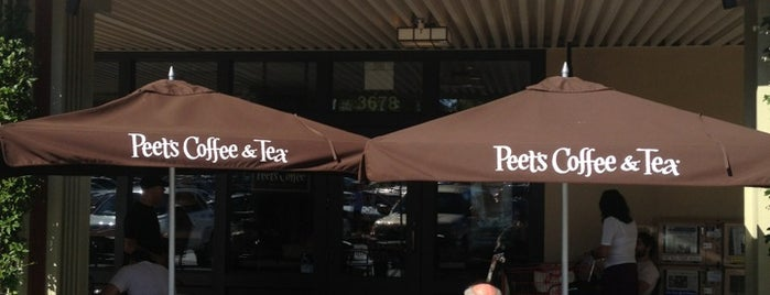 Peet's Coffee & Tea is one of Napa Valley Coffee Joints.
