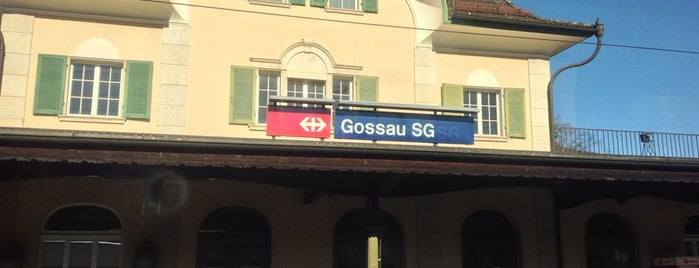 Bahnhof Gossau SG is one of Bahnhöfe Top 200 Schweiz.