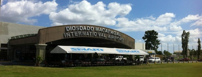 Clark International Airport (CRK) is one of Fly.