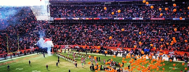 Sports Authority Field at Mile High is one of NFL Stadiums.