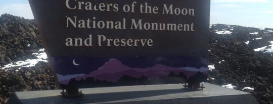 Craters of the Moon National Monument is one of Places from the reporting trail.