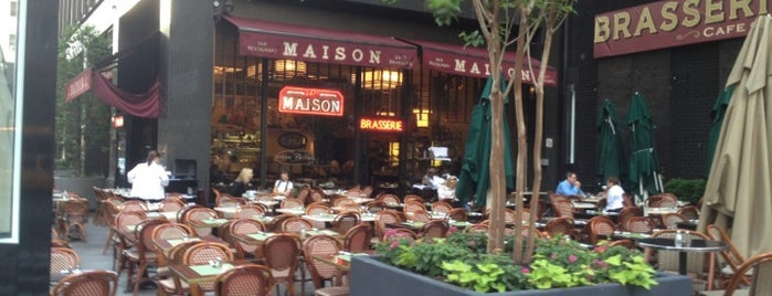 Maison is one of NYC 24h restaurants.
