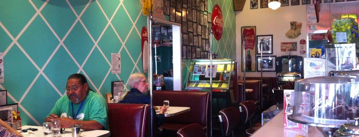 Cafe 50s is one of LA's Best Hamburgers.