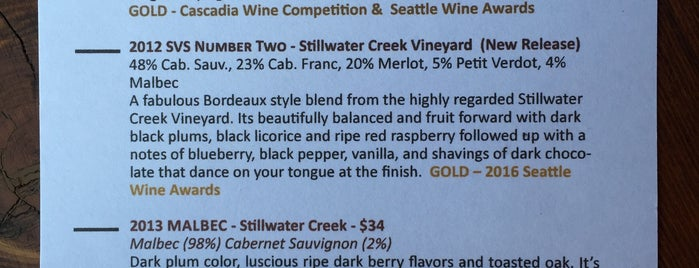 Pondera Winery is one of Must-visit Nightlife Spots in Woodinville.