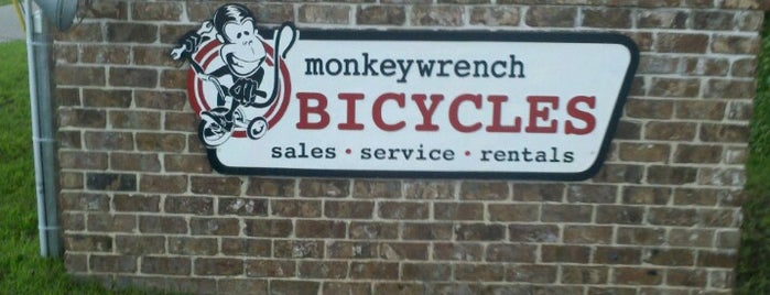 Monkeywrench Bicycles is one of Georgia Beach Rentals.