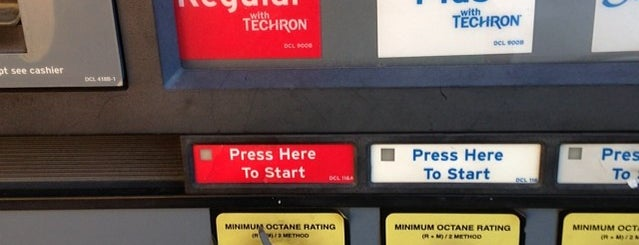 Chevron is one of Places I've Mayored.
