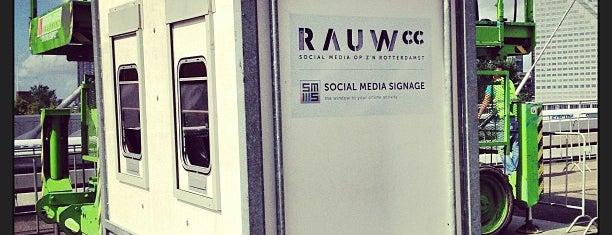 RauwCC City Racing Basecamp is one of #010 op z'n #Rotterdamst.