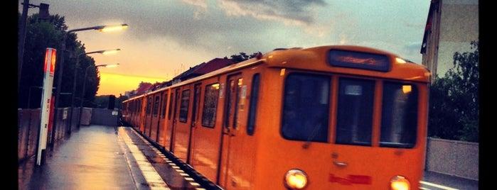 U Prinzenstraße is one of Besuchte Berliner Bahnhöfe.