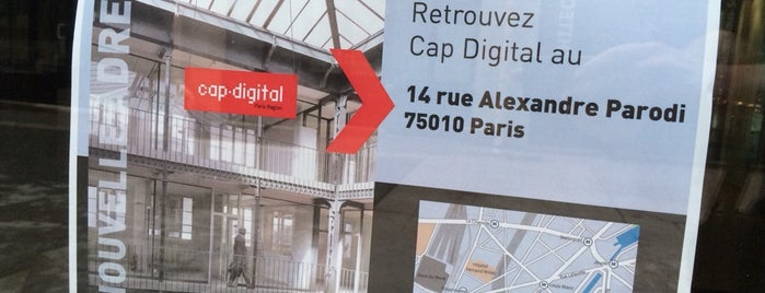 Cap Digital is one of Bureaux à Paris.