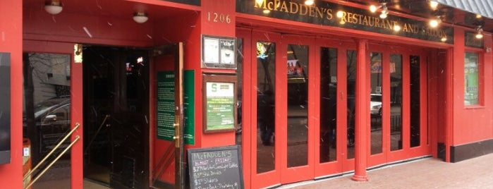 McFadden's is one of Official Blackhawks Bars.