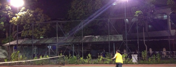Lapangan Tennis Depag is one of Ace Badge (Tennis Court) in Jakarta Indonesia.