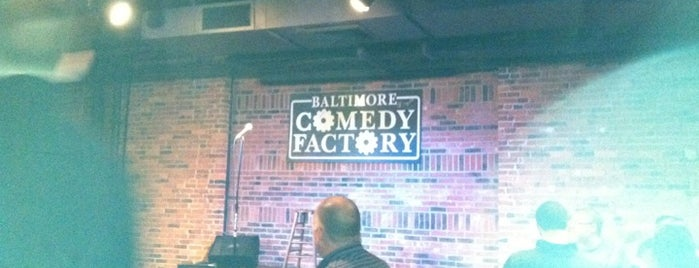 Baltimore Comedy Factory is one of bars.