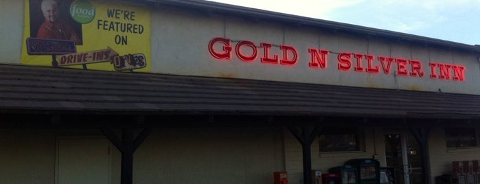 Gold N' Silver Inn is one of Triple D Checklist.