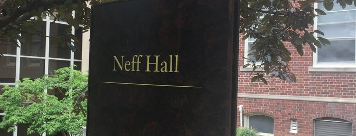 Neff Hall is one of MU History Tour.
