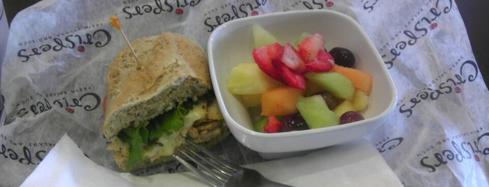 Crispers Fresh Salads, Soups and Sandwiches is one of Food Places.