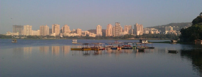 Powai Lake Garden is one of Mumbai Maximum.