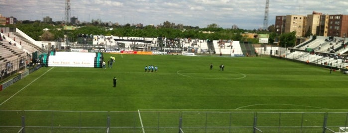 Estadio Hilario Sanchez (San Martín de San Juan) is one of Equipos de 1ra División.