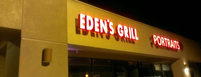 "Eden's Grill is one of Featured on PBS' ""Check, Please! Arizona""."