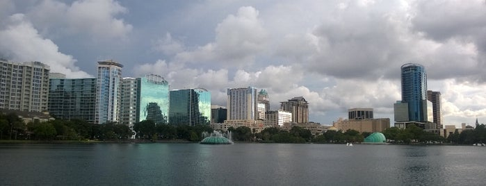 The Linton E. Allen Memorial Fountain At Lake Eola Park is one of The Lake Eola Local Dash.