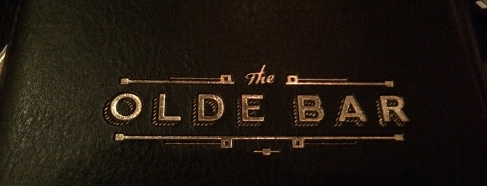 The Olde Bar is one of Philadelphia.