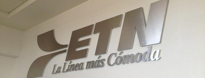 Sala De Espera ETN is one of Taquillas ETN.