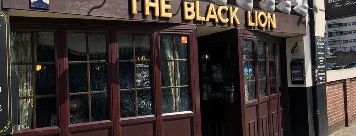 The Black Lion is one of Olympic eats: ExCeL.