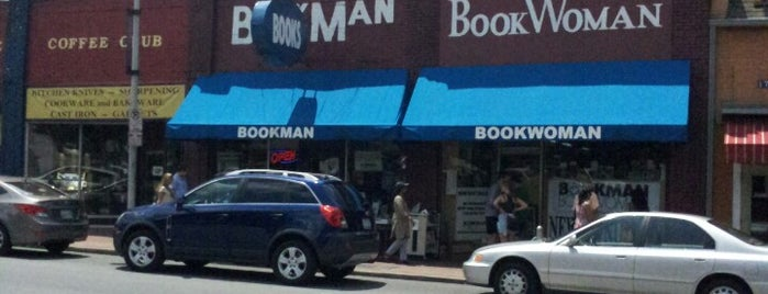 Bookman Rare & Used Books is one of Nashville.