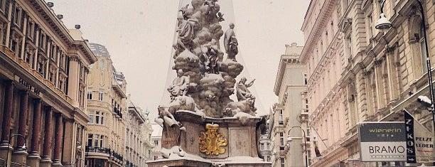 Graben is one of Vienna.