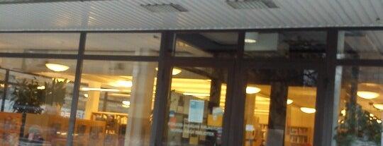 Pohjois-Haagan kirjasto is one of HelMet-kirjaston palvelupisteet.