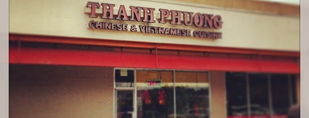 Thanh Phuong Chinese & Vietnamese Restaurant is one of Houston Press - 'We Love Food' - 2012.