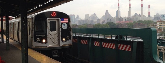 MTA Subway - Queensboro Plaza (N/W/7) is one of My Places.