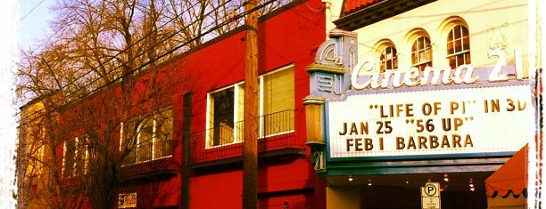 Cinema 21 Theatre is one of PDX To-Do.