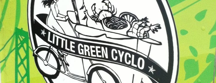 Little Green Cyclo is one of Food Trucks.