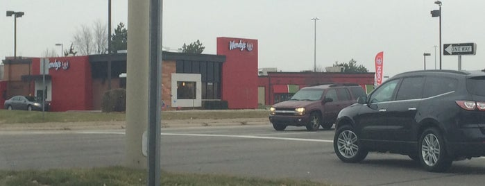 Wendy's is one of Work Lunch Locations.
