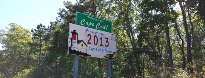 Welcome To Cape Cod Sign is one of Landmarks.