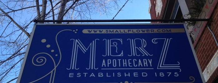 Merz Apothecary is one of The Windy City Badge.