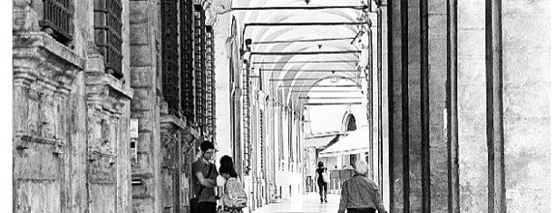 Via Zamboni is one of Bologna City Badge - Bolognese.